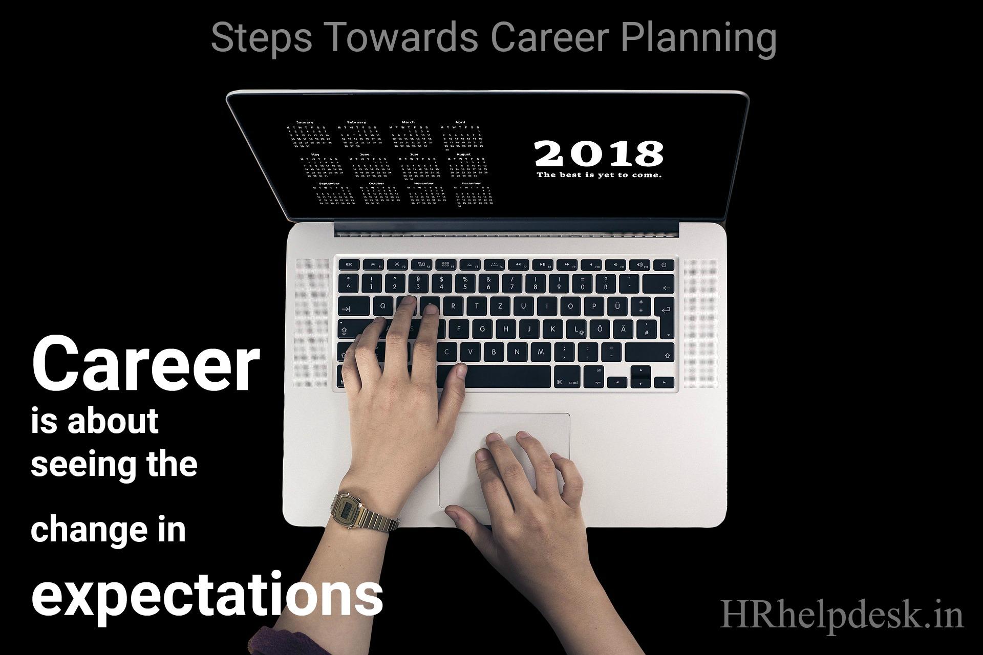 steps career planning HR helpdesk