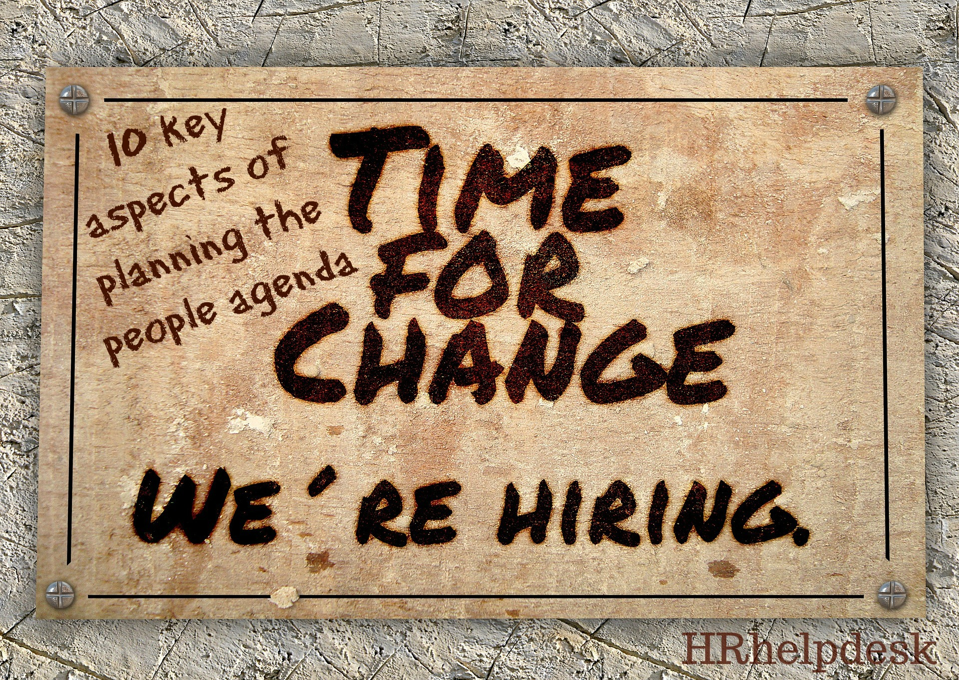 we are hiring hr consulting
